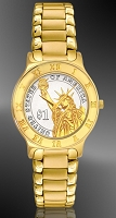 Presidential Dollar Ladies Bracelet Coin Watch R333-P02-L3