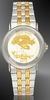 America The Beautiful Quarters Unisex Bracelet Coin Watch S111-IUS2-L2