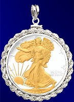 Walking Liberty Pendant PRR5-WL2