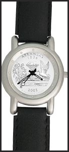 US Mint 50 State Quarters Mens Book Watch Coin Watches US-BW-M111-QUS1-4
